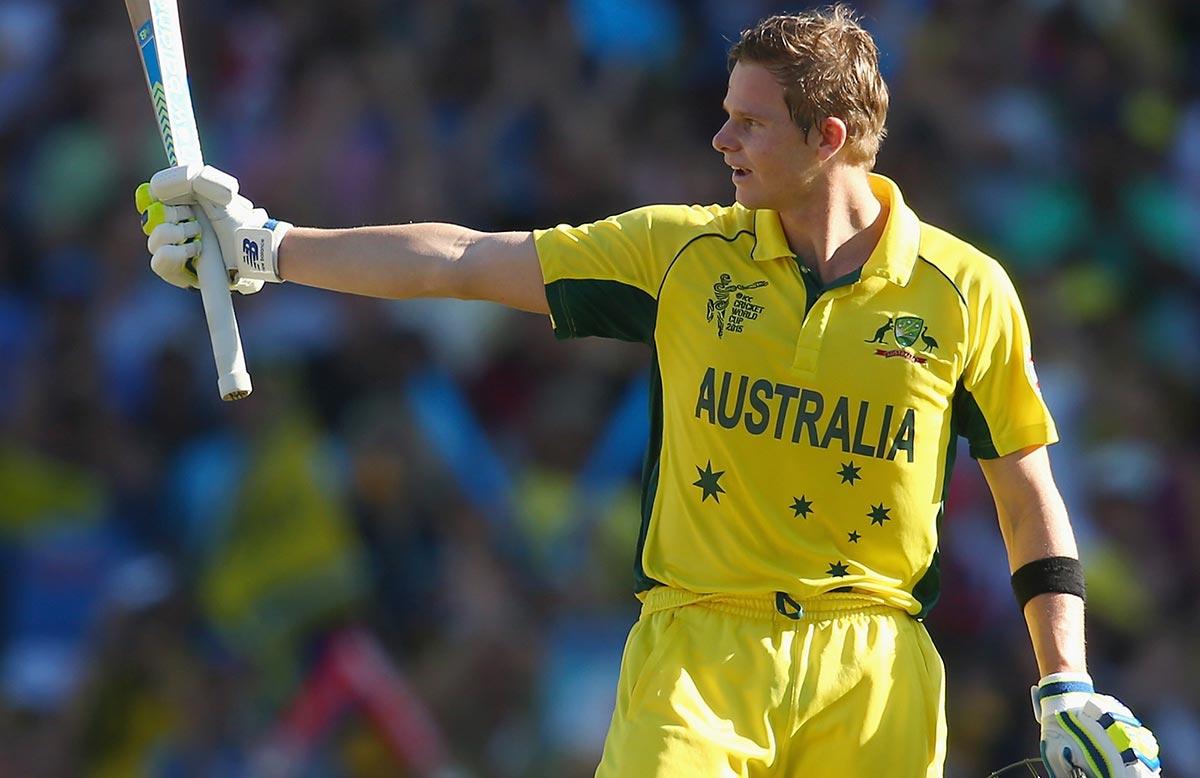 Smith cricketer yellow dress photos