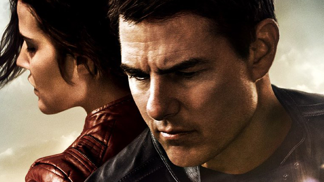 Tom cruise cobie smulders in jack reacher never go back film