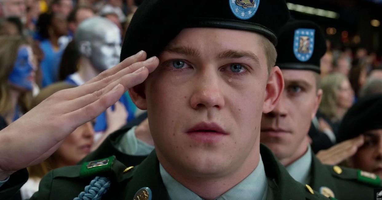 Billy lynn's long halftime walk garrett hedlund pictures