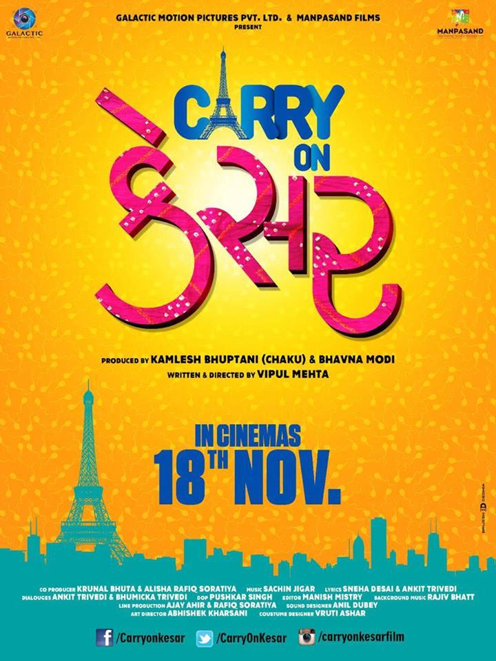 Carry on kesar movie poster