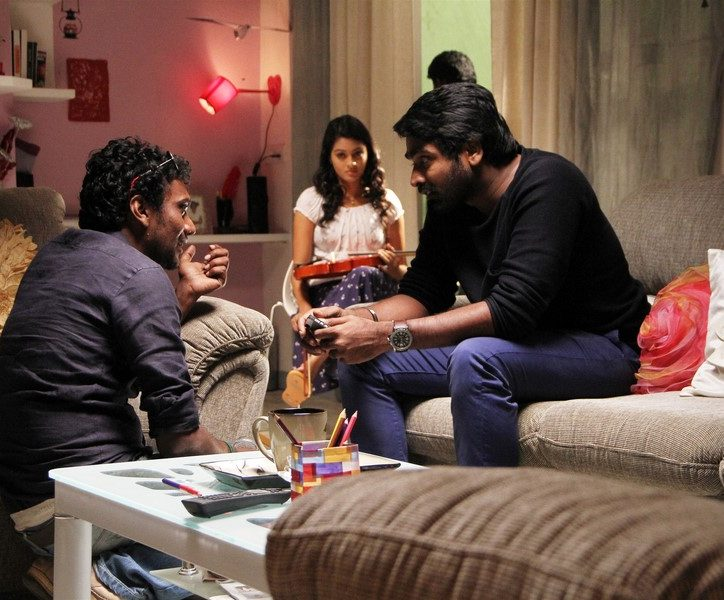 Puriyaadha pudhir vijay sethupathi shooting photos