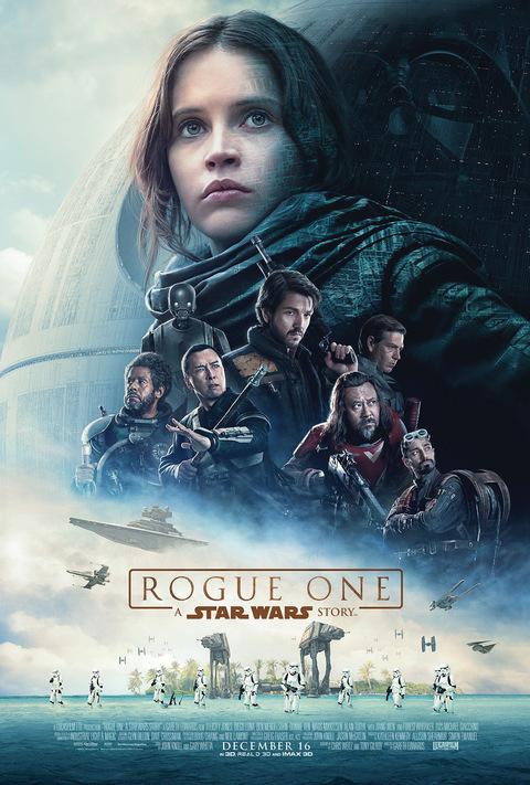 Rogue one felicity jones poster