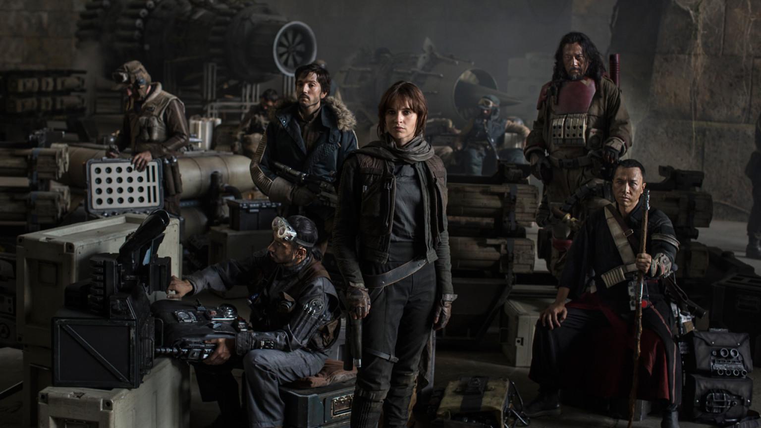 Rogue one movie group photos