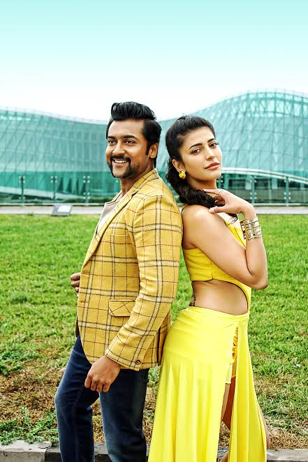 Shruti hassan suriya in singam 3 film