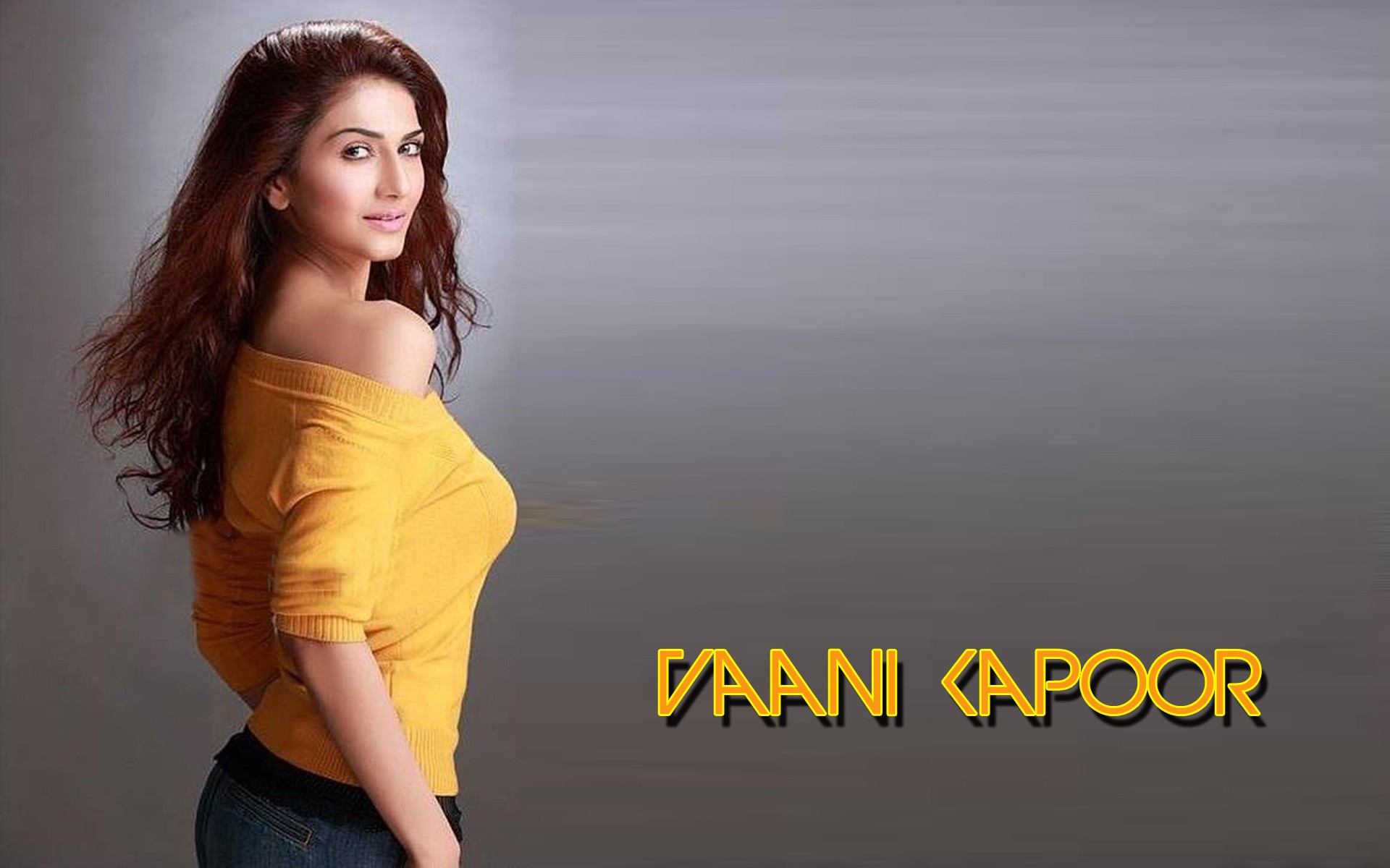 Vaani kapoor yellow dress hd wallpaper