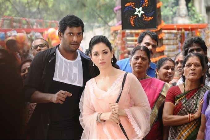 Vishal tamanna in kaththi sandai movie