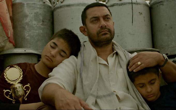Aamir khan in dangal film
