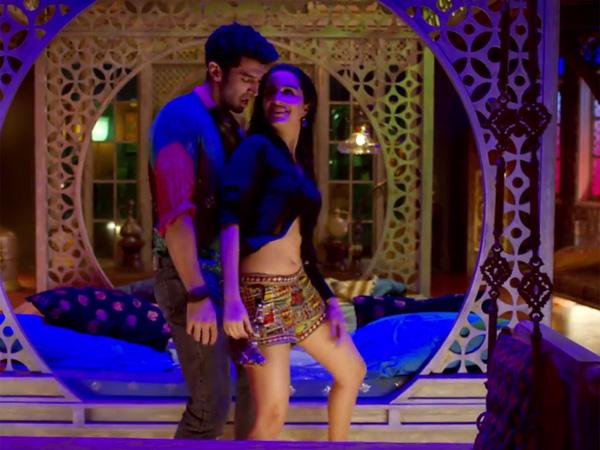Aditya roy kapur shraddha kapoor dance in ok jaanu film