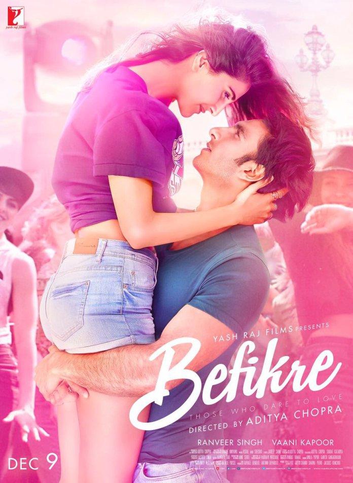 Befikre 2016 hindi movie poster
