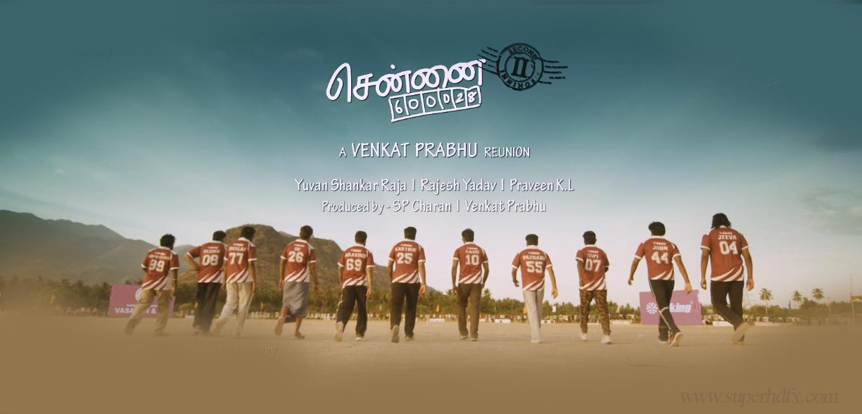 Chennai 600028 2 movie poster