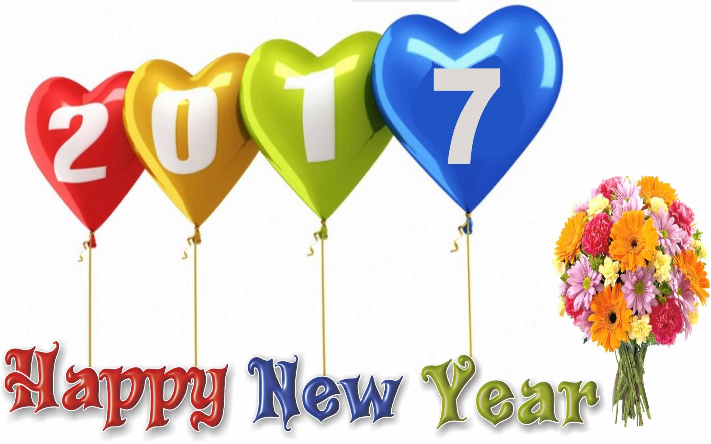 Happy new year 2017 love wallpapers