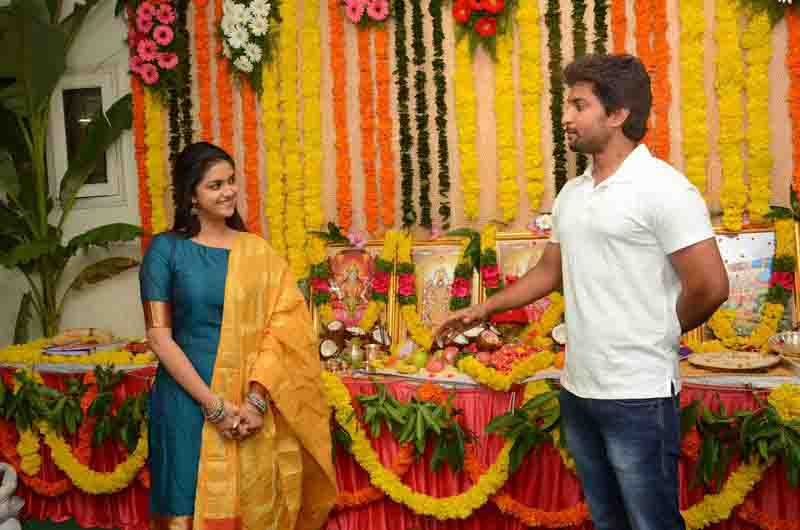 Keerthi suresh nani in nenu local film