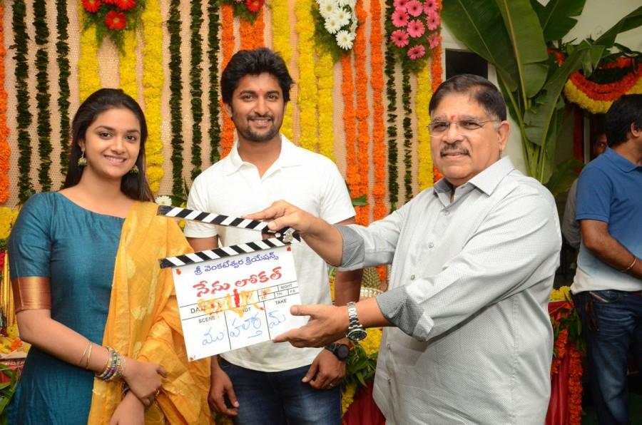 Nenu local movie pooja photos