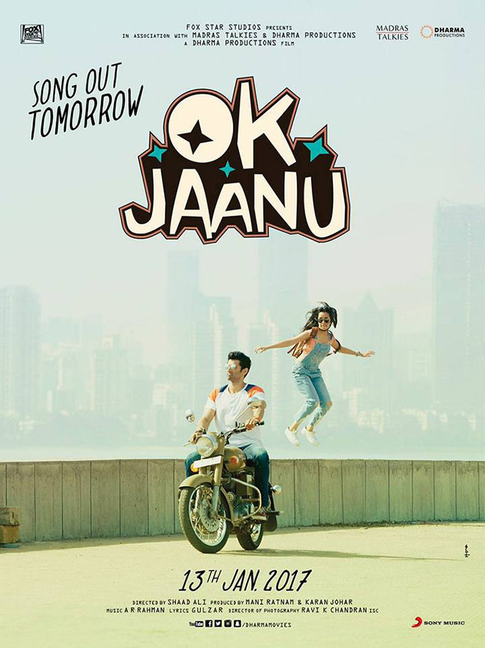 Ok jaanu first look poster