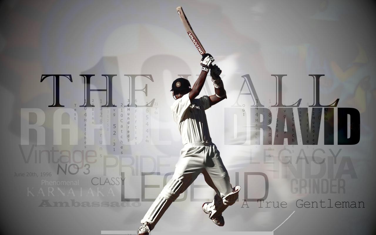 Rahul dravid bating wallpaper