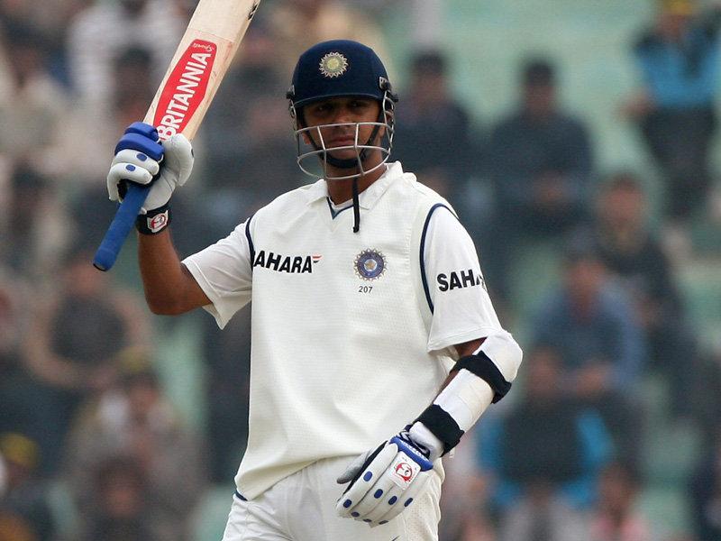 Rahul dravid century cricket stills