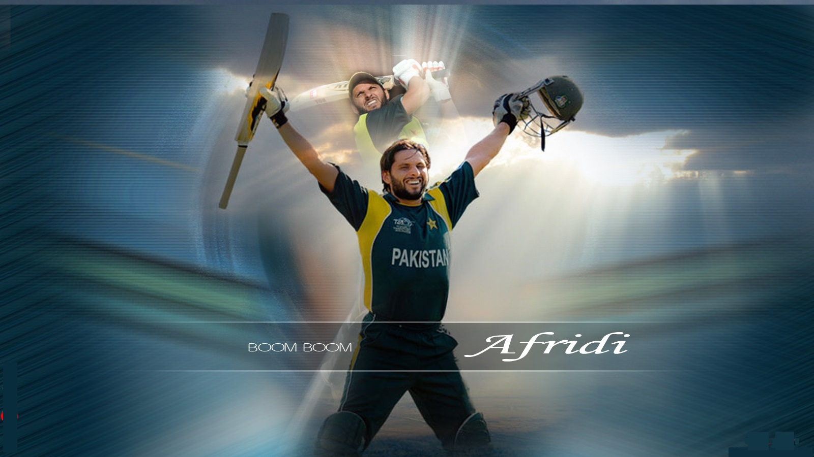 Shahid afridi cricket pictures