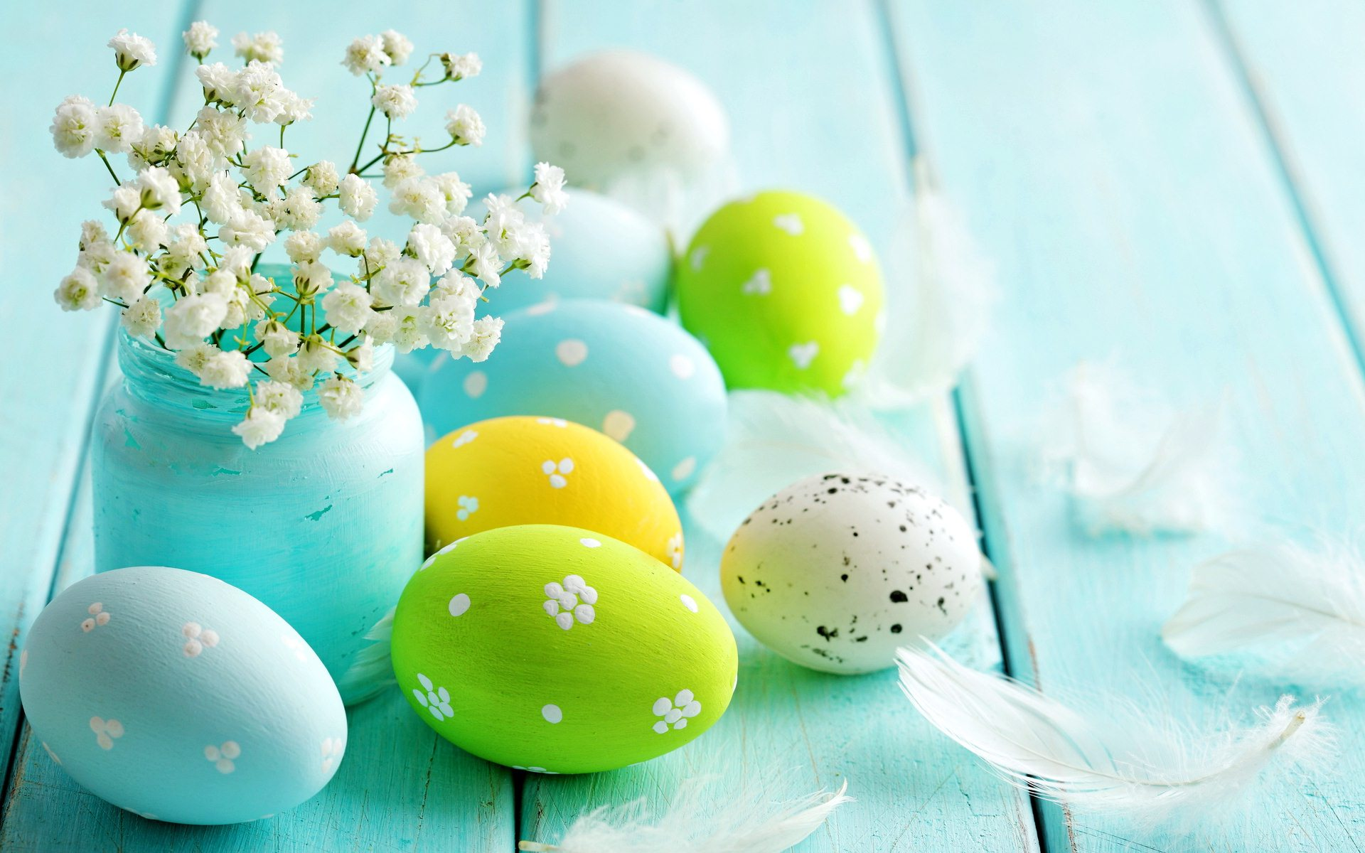 Easter blue wallpapers