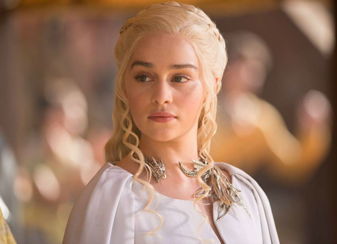 Emilia clarke new hair style photos