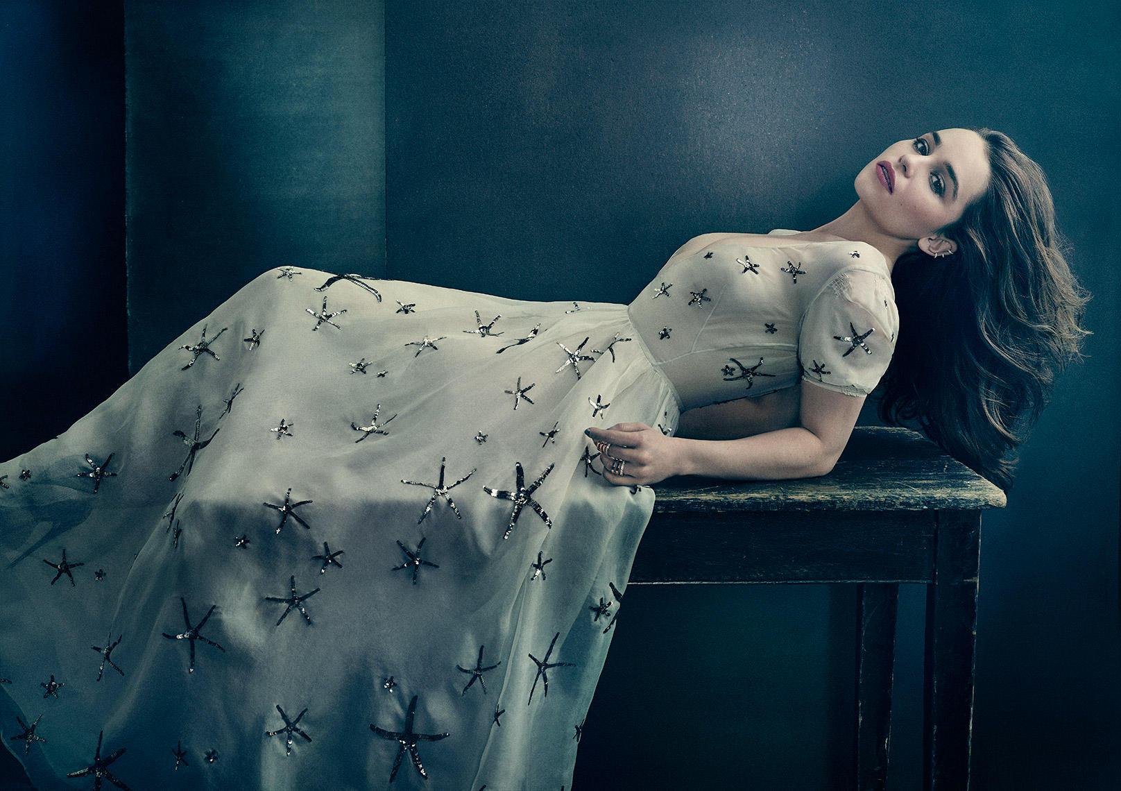 Emilia clarke photoshoot stills