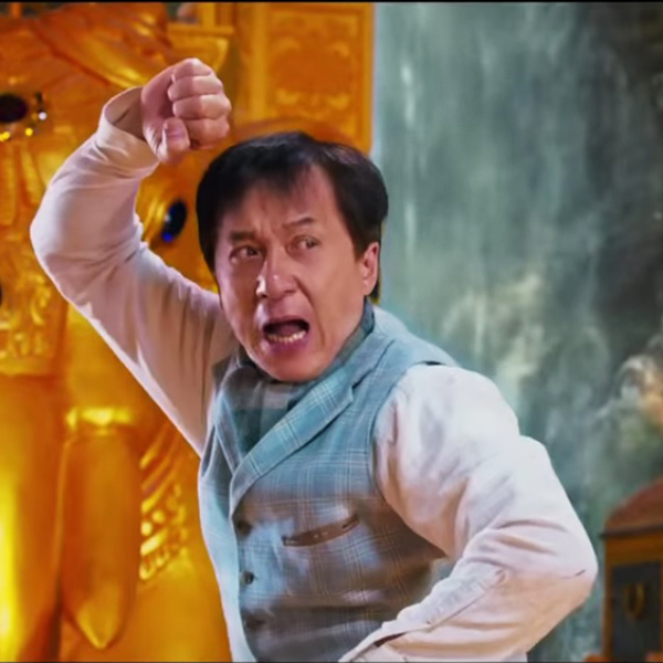 Jackie chan fight in kung fu yoga film