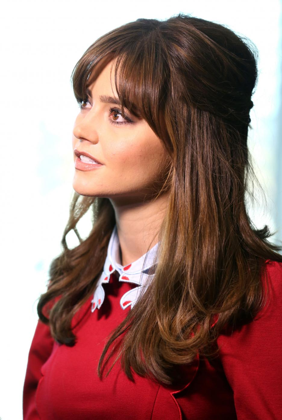 Jenna coleman hair style photos