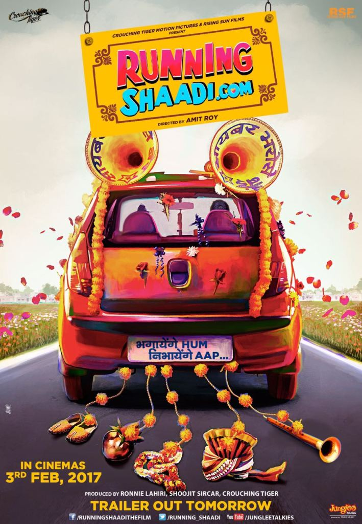 Runningshaadi com movie poster