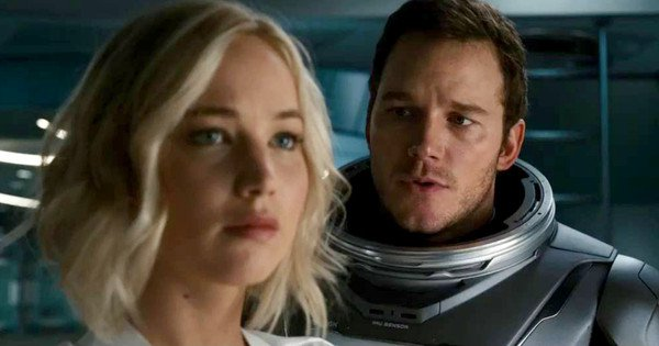 Passengers chris pratt jennifer lawrence film images