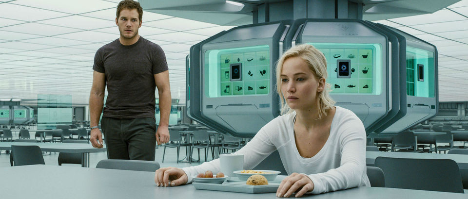 Passengers jennifer lawrence chris pratt pics