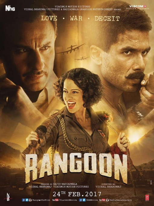 Rangoon kangna ranaut first look poster