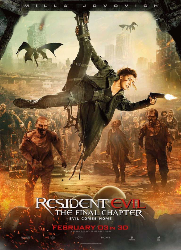 Resident evil the final chapter milla jovovich photos