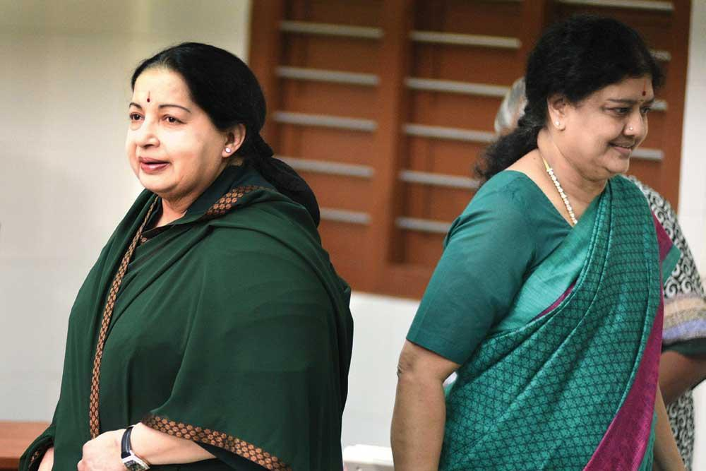 Sasikala and jayalalitha pictures