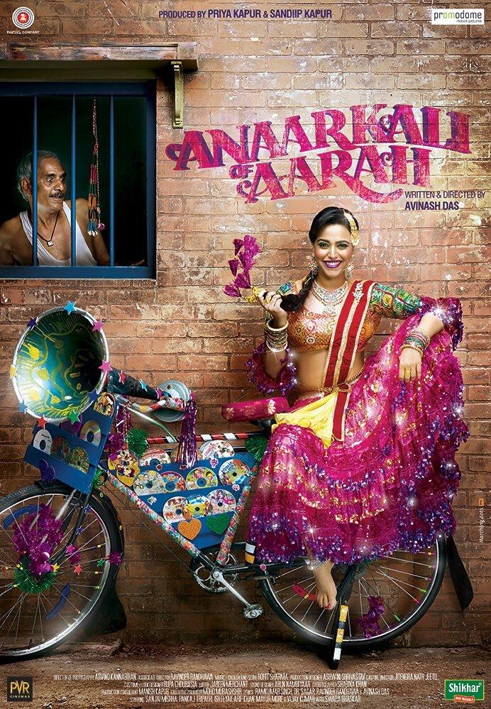 Anaarkali of aaraah poster