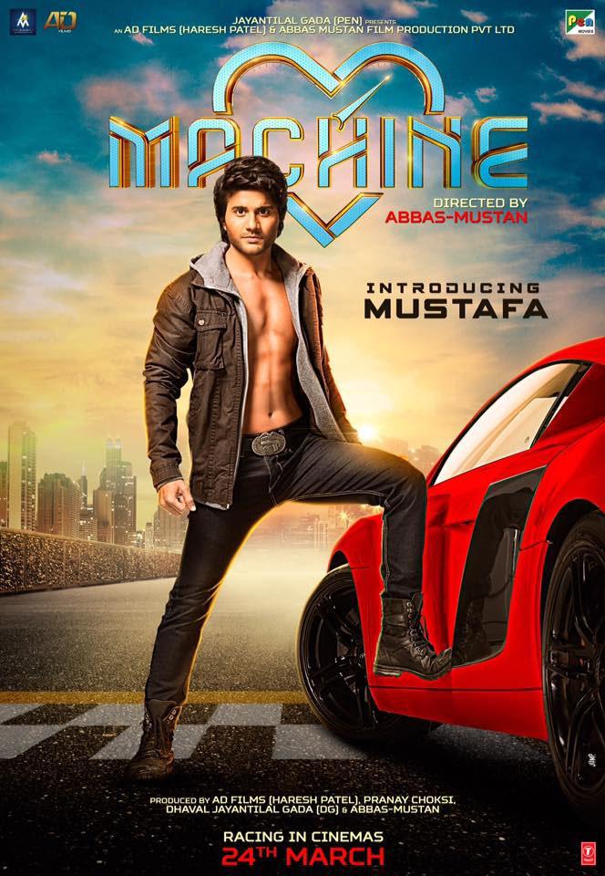 Machine hindi movie poster
