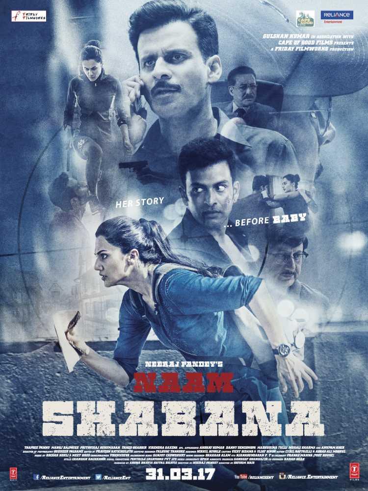 Naam shabana movie poster
