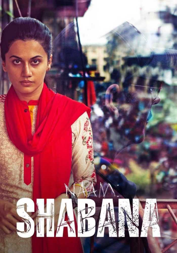 Naam shabana tapasee first look poster