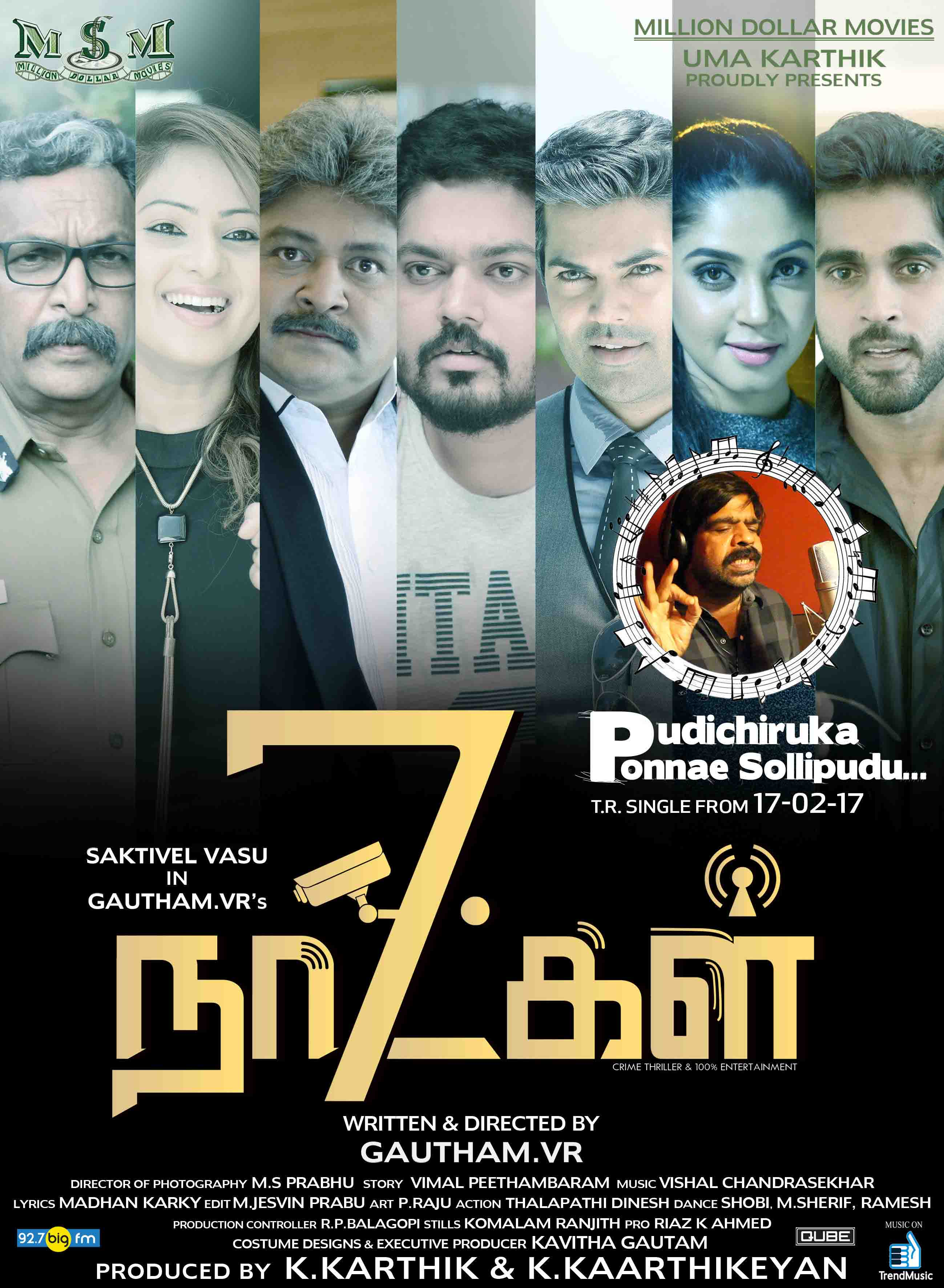 7 naatkal movie poster