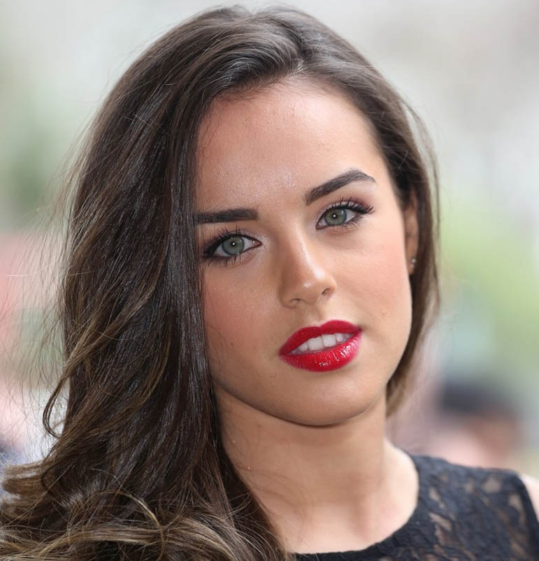 Georgia may foote face wallpapers