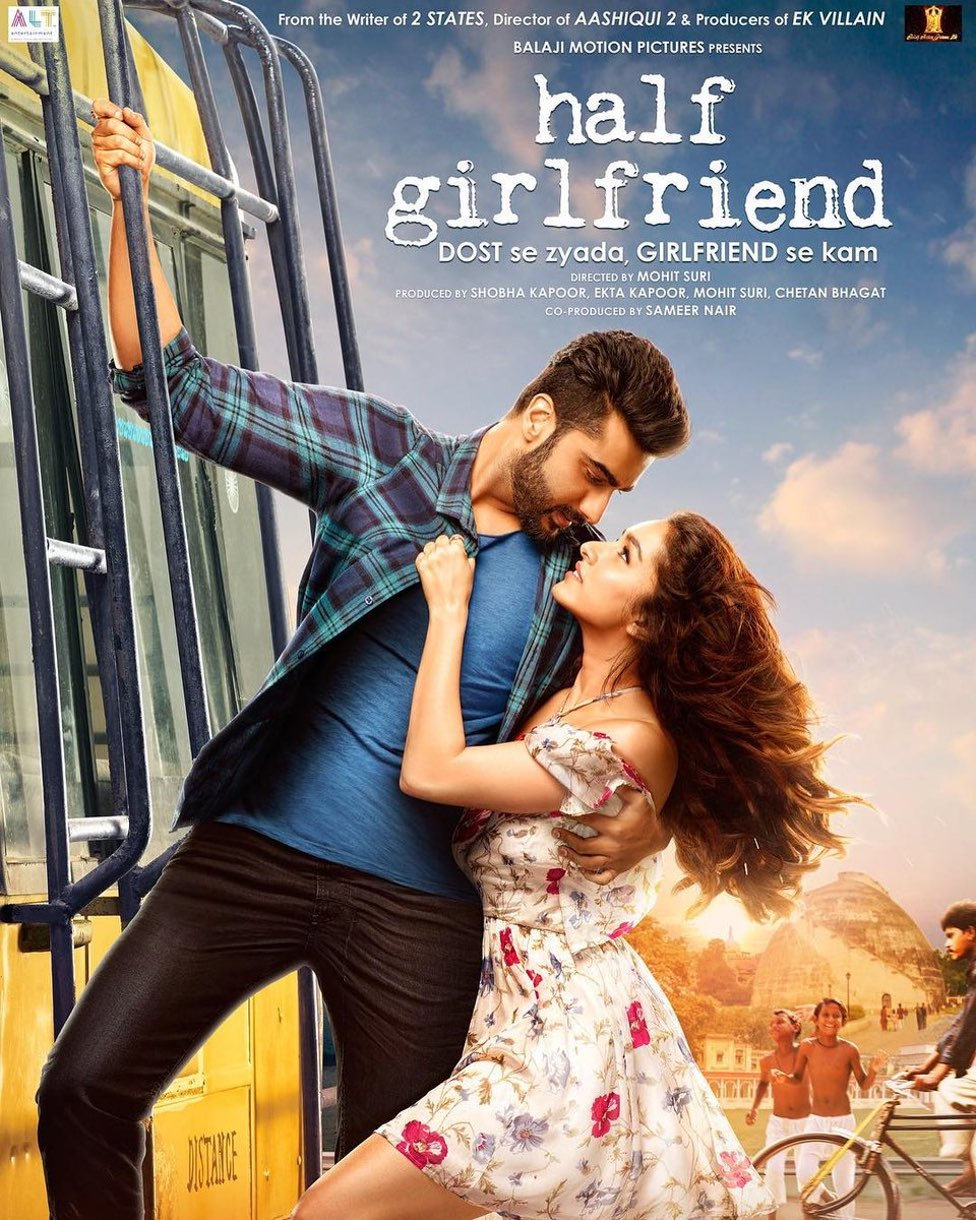 Half girlfriend arjun kapoor poster