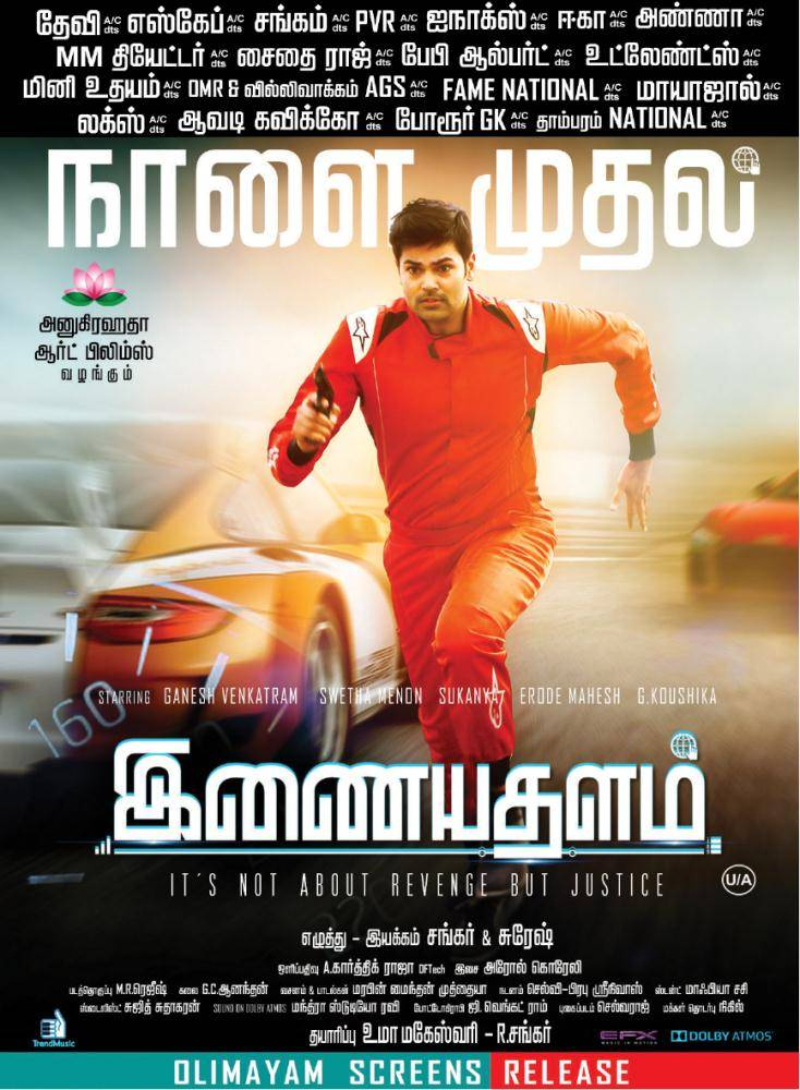 Inayathalam first look poster