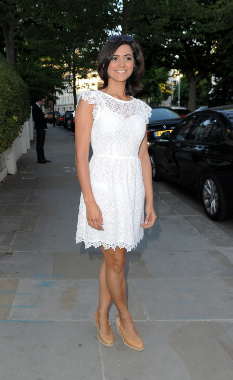 Lucy verasamy white color dress pics