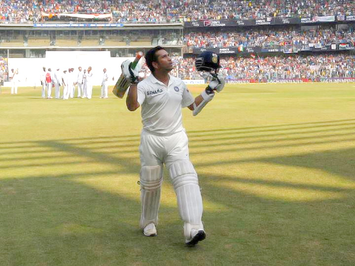 Sachin last innings pictures