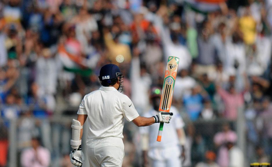 Sachin tendulkar last match wankhede stills