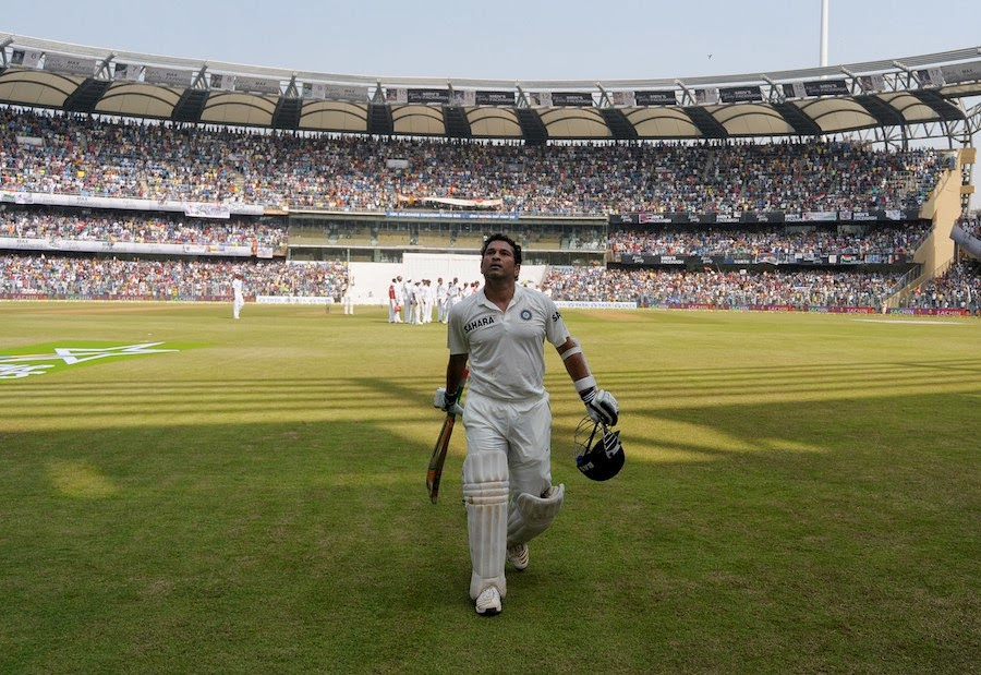 Sachin test match last innings stills