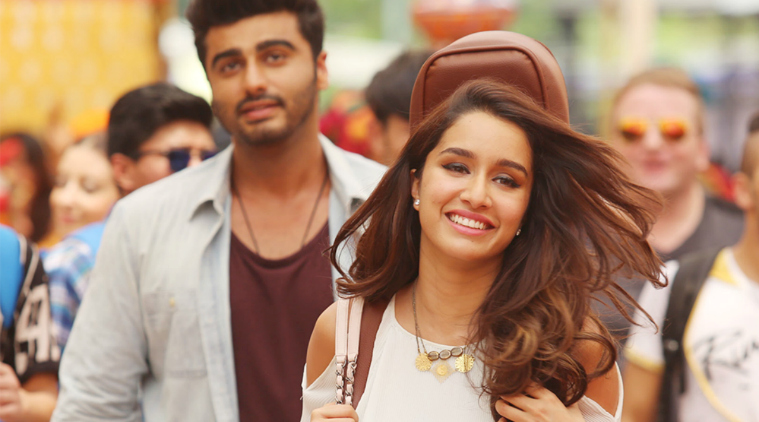 Shraddha kapoor arjun kapoor in half girlfriend film