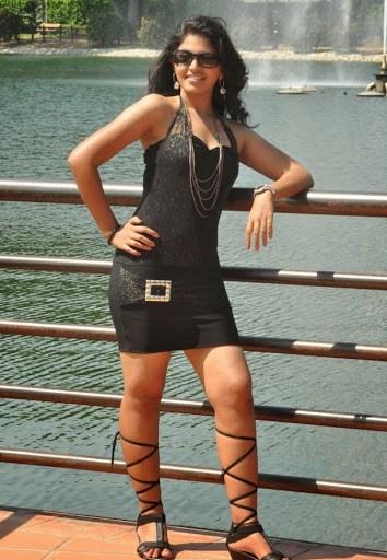 Actress anjali black dress hot pictures