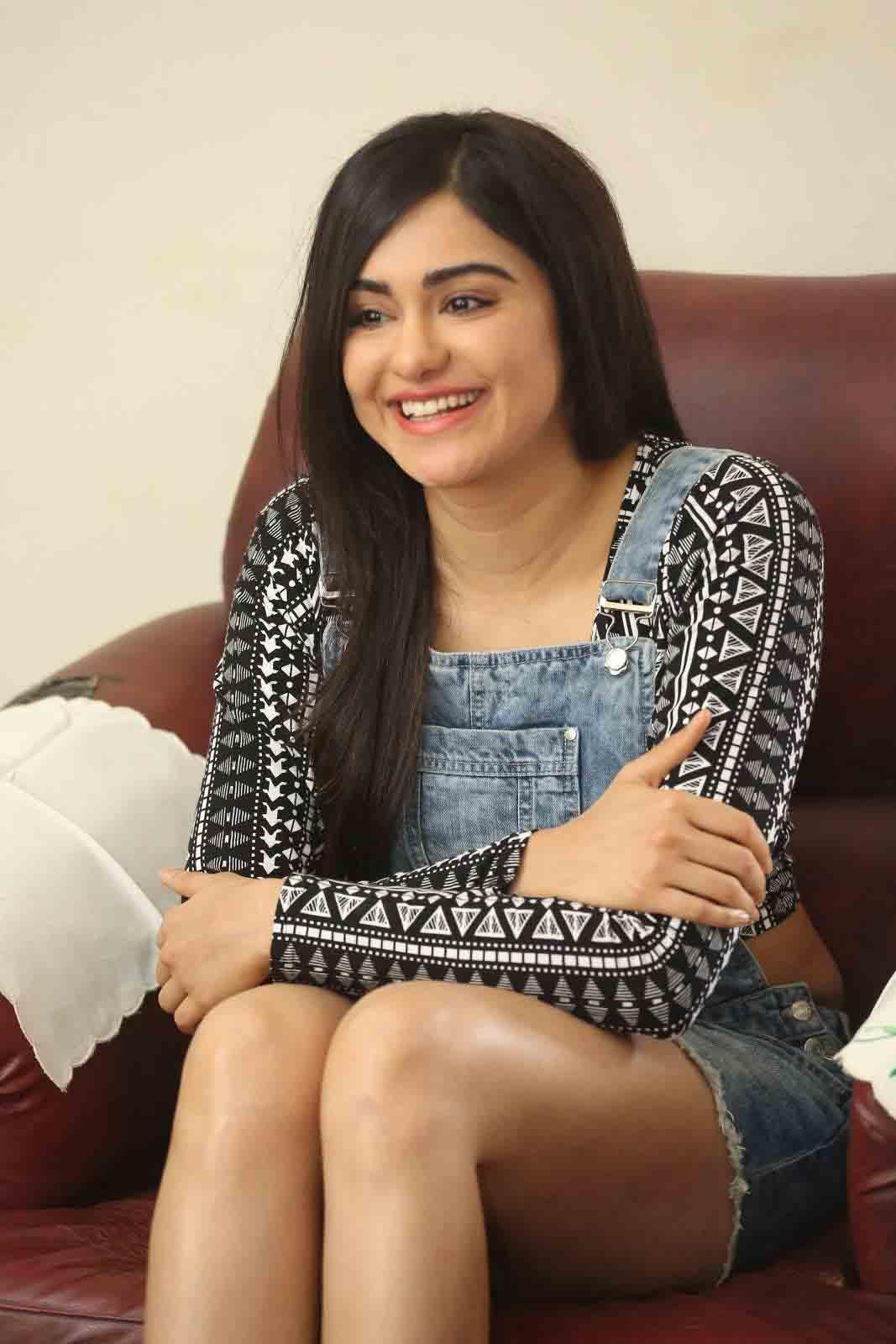 Adah sharma interview photos