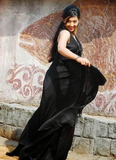 Aindrita ray black saree photos