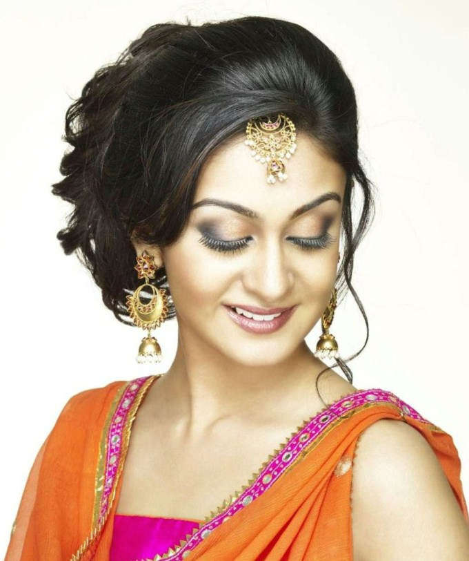 Aishwarya arjun cute hair style pictures