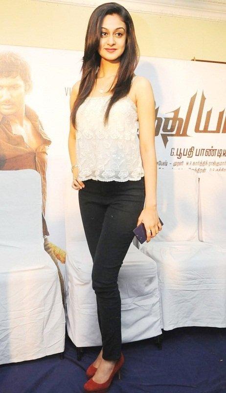 Aishwarya arjun film launch photos